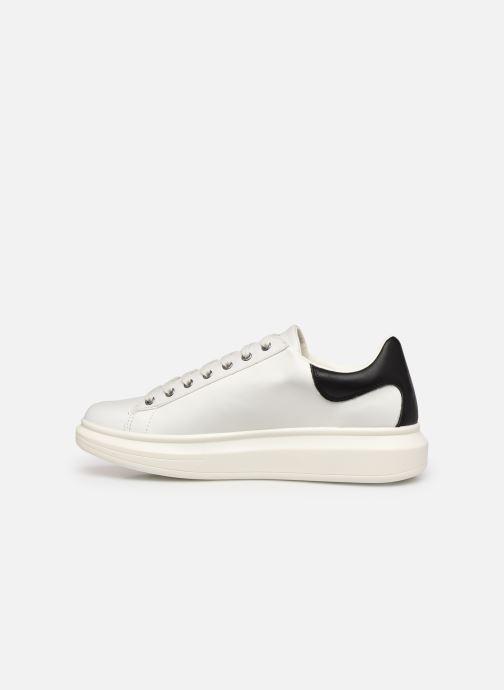 Sneaker Guess SALERNO weiß ansicht von vorne