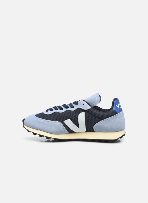 Sneaker Veja Rio Branco M blau ansicht von vorne