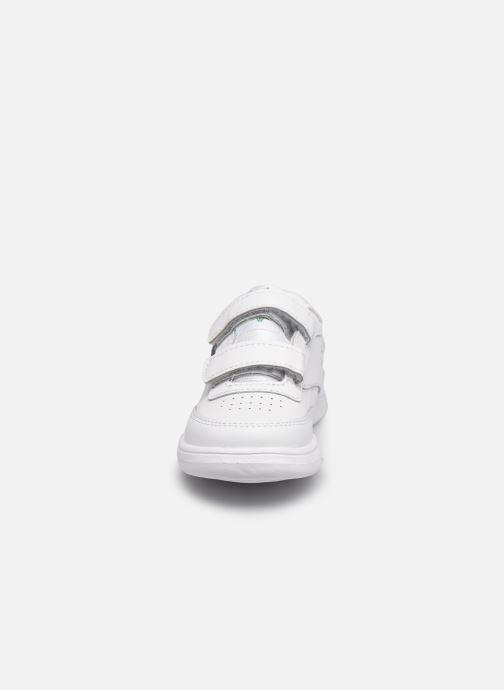 Baskets Reebok Club C 2V Vert vue portées chaussures