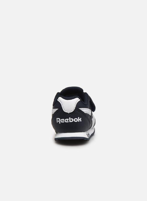 Sneaker Reebok Reebok Royal Cljog infant blau ansicht von rechts