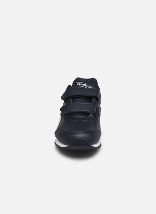 Sneakers Reebok Reebok Royal Cljog 2V Azzurro modello indossato