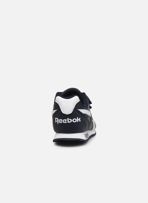 Baskets Reebok Reebok Royal Cljog 2V Bleu vue droite