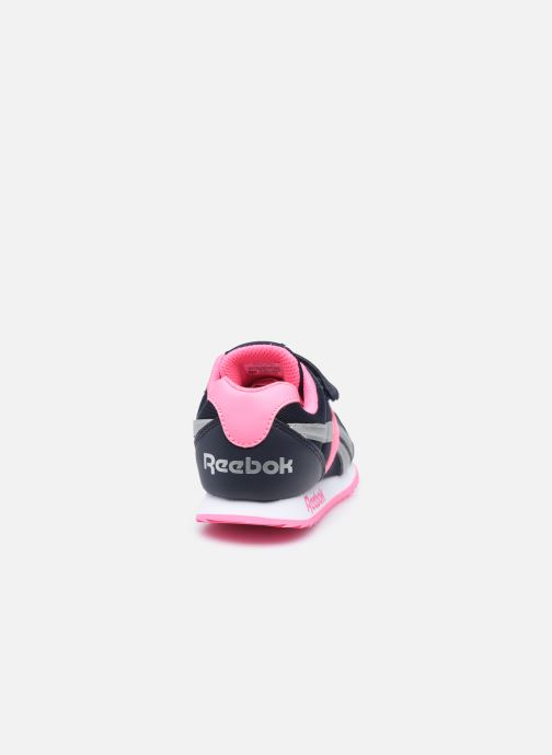 Sneaker Reebok Reebok Royal Cljog 2V rosa ansicht von rechts