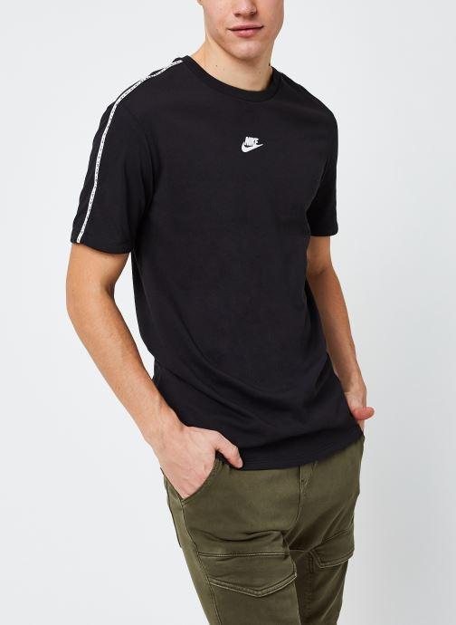Vêtements Nike M Nsw Repeat Top Ss Noir vue détail/paire