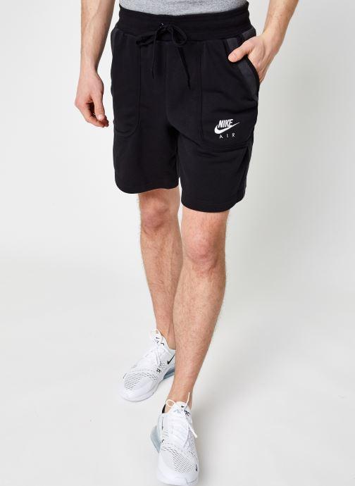 Ropa Nike M Nsw Nike Air Ft Flc Short Negro vista de detalle / par