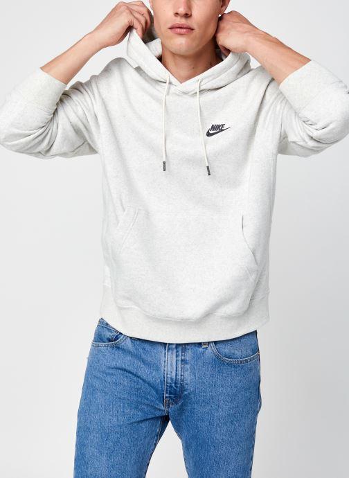 Ropa Nike M Nsw  Po Sb Hoodie Revival Gris vista de detalle / par