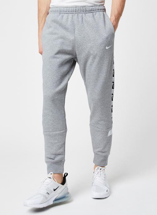 Vêtements Nike M Nsw Repeat Flc Jggr Bb Gris vue détail/paire
