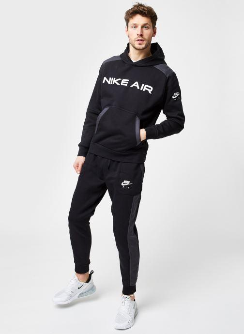 Vêtements Nike M Nsw Nike Air Fleece Jggr Noir vue bas / vue portée sac