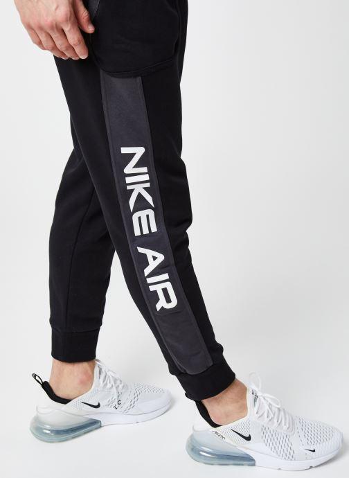 Vêtements Nike M Nsw Nike Air Fleece Jggr Noir vue face
