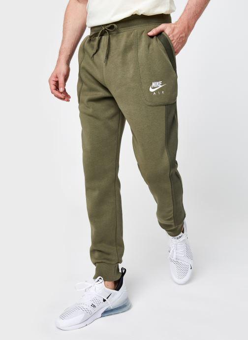 Ropa Nike M Nsw Nike Air Fleece Jggr Verde vista de detalle / par