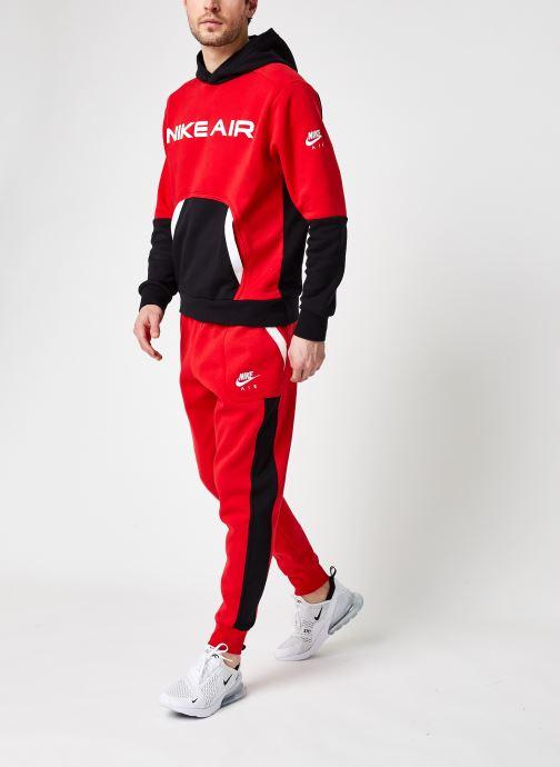 Vêtements Nike M Nsw Nike Air Fleece Jggr Rouge vue bas / vue portée sac
