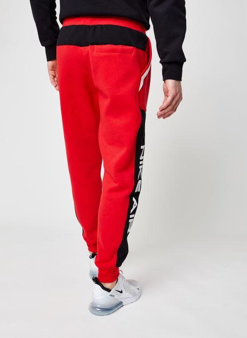 Vêtements Nike M Nsw Nike Air Fleece Jggr Rouge vue portées chaussures