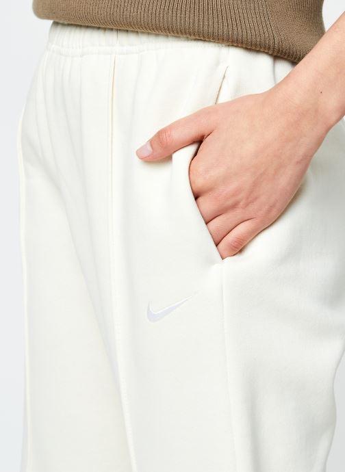 Vêtements Nike W Nsw Essntl Flc Hr Pnt Clctn Beige vue face