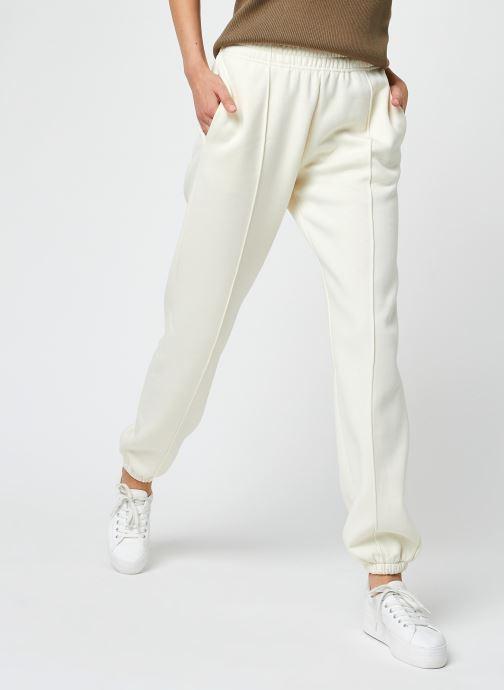Vêtements Nike W Nsw Essntl Flc Hr Pnt Clctn Beige vue détail/paire