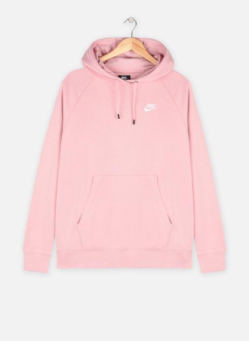 Vêtements Nike W Nsw Essntl Flc Hoodie Plus Rose vue détail/paire