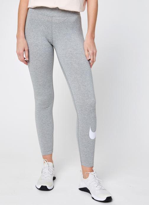 Vêtements Nike W Nsw Essntl Gx Mr Lggng Swsh Gris vue détail/paire