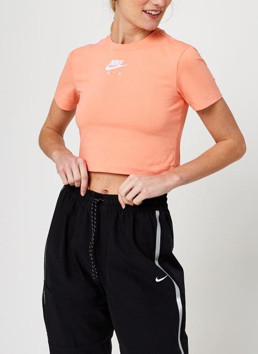 Kleding Nike W Nsw Air Ss Top Crop Oranje detail