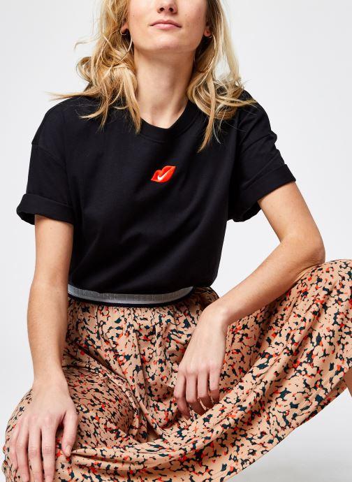 Vêtements Nike W Nsw Tee Boy Love Noir vue détail/paire