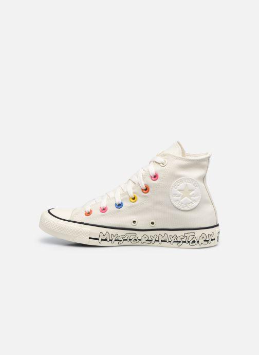 Sneaker Converse Chuck Taylor All Star My Story Hi beige ansicht von vorne