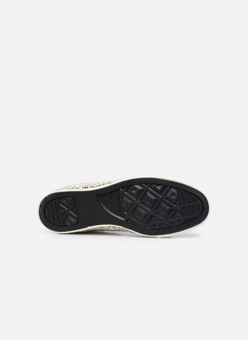 Sneaker Converse Chuck Taylor All Star My Story Hi beige ansicht von oben