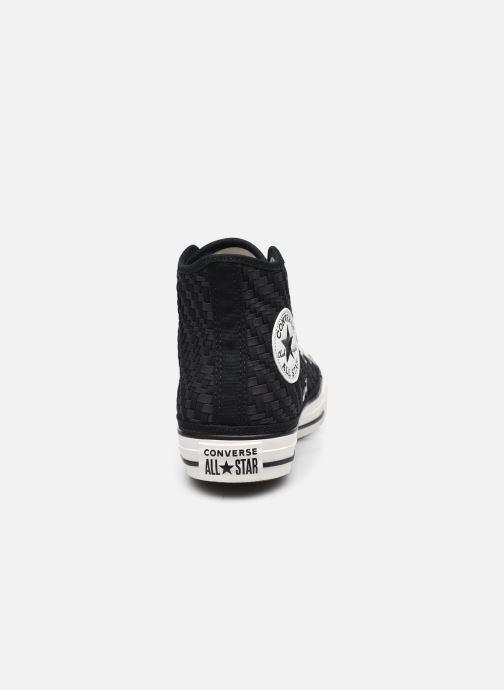 Sneakers Converse Chuck Taylor All Star Tonal Weaving Hi Nero immagine destra