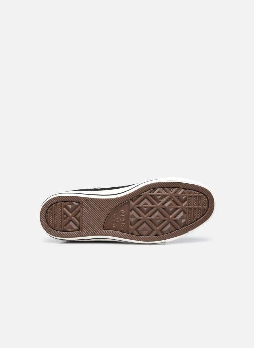 Sneakers Converse Chuck Taylor All Star Tonal Weaving Hi Nero immagine dall'alto