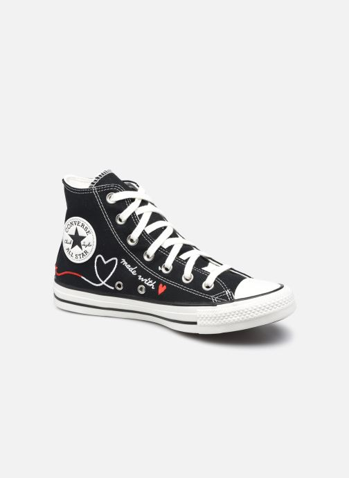 Baskets Converse Chuck Taylor All Star Valentine's Day Hi Noir vue détail/paire