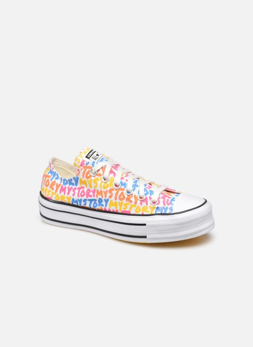 Sneaker Converse Chuck Taylor All Star Double Stack Lift My Story Ox mehrfarbig detaillierte ansicht/modell