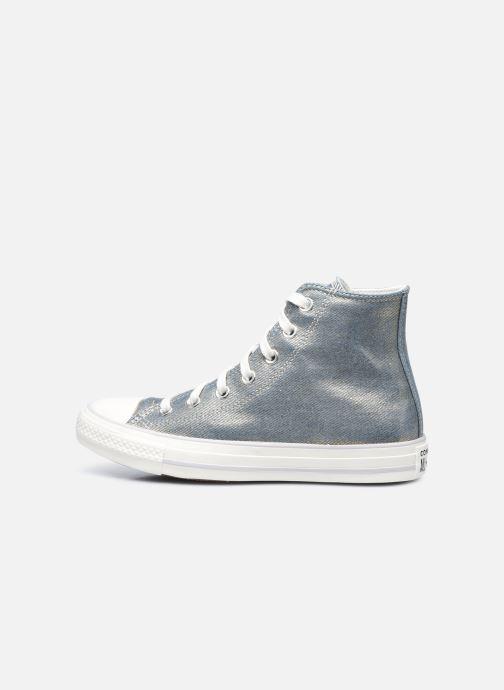 Sneaker Converse Chuck Taylor All Star Digital Powder Hi gold/bronze ansicht von vorne