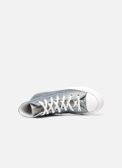 Sneaker Converse Chuck Taylor All Star Digital Powder Hi gold/bronze ansicht von links