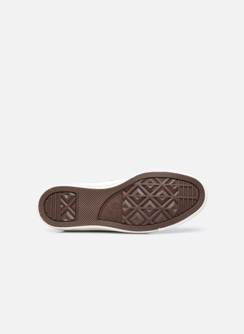 Sneaker Converse Chuck Taylor All Star Digital Powder Hi gold/bronze ansicht von oben
