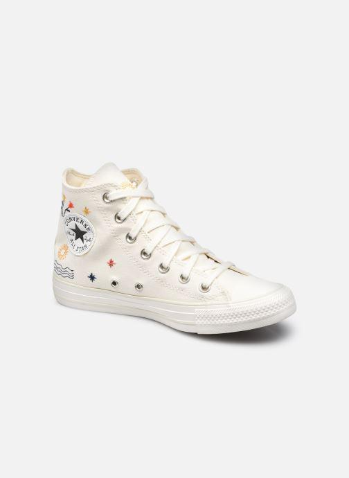 Sneaker Converse Chuck Taylor All Star It's OK To Wander Hi weiß detaillierte ansicht/modell