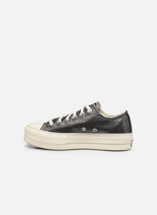 Sneakers Converse Chuck Taylor All Star Lift Digital Powder Ox Argento immagine frontale