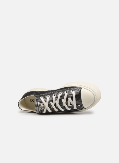 Sneakers Converse Chuck Taylor All Star Lift Digital Powder Ox Argento immagine sinistra