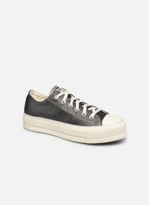 Sneakers Converse Chuck Taylor All Star Lift Digital Powder Ox Argento vedi dettaglio/paio