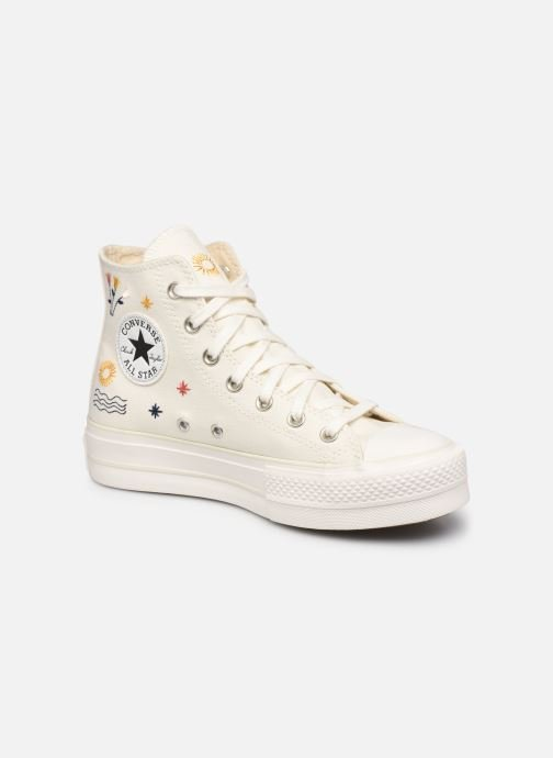 Sneakers Dames Chuck Taylor All Star Lift It's OK To Wander Hi
