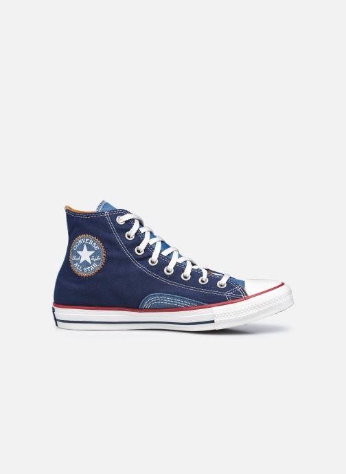 Sneakers Converse Chuck Taylor All Star Indigo Boro Hi Azzurro immagine posteriore