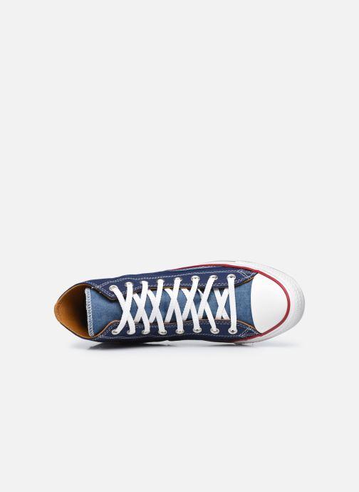 Sneakers Converse Chuck Taylor All Star Indigo Boro Hi Azzurro immagine sinistra