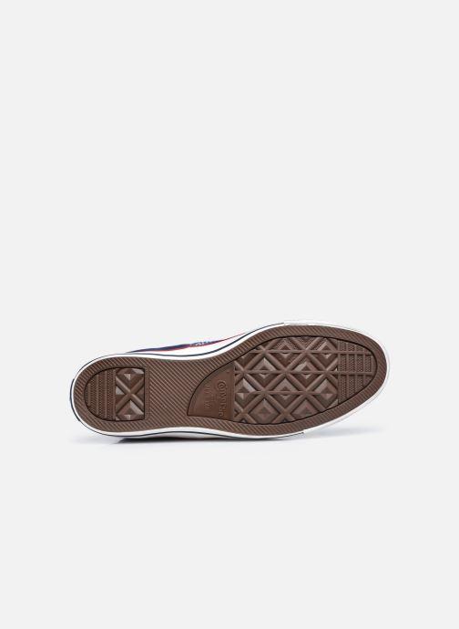 Sneakers Converse Chuck Taylor All Star Indigo Boro Hi Azzurro immagine dall'alto