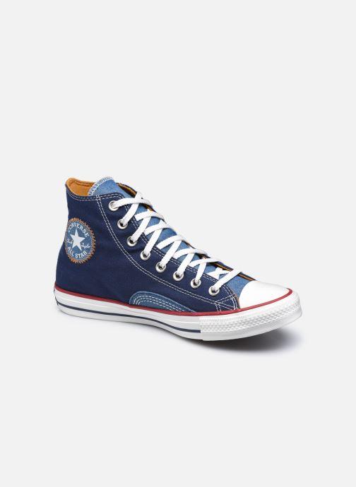 Sneakers Converse Chuck Taylor All Star Indigo Boro Hi Azzurro vedi dettaglio/paio