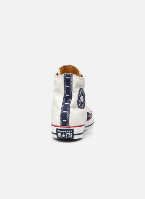 Sneakers Converse Chuck Taylor All Star Indigo Boro Hi Bianco immagine destra