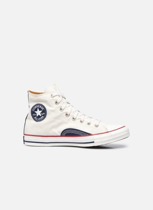 Sneakers Converse Chuck Taylor All Star Indigo Boro Hi Bianco immagine posteriore