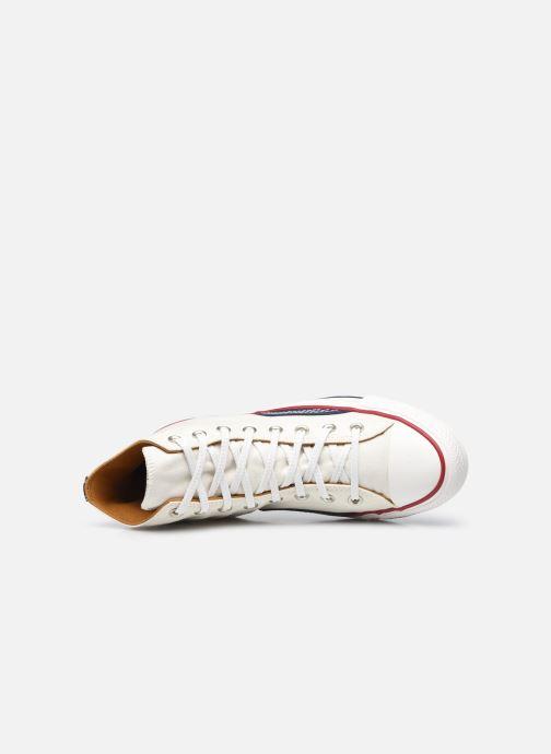 Sneakers Converse Chuck Taylor All Star Indigo Boro Hi Bianco immagine sinistra