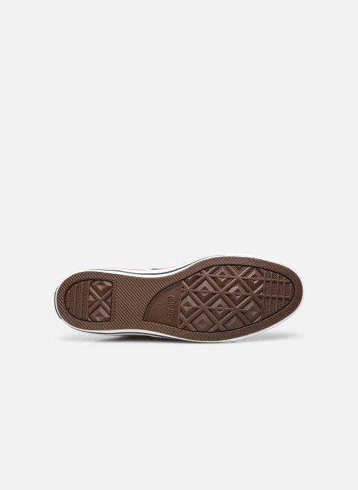 Sneakers Converse Chuck Taylor All Star Indigo Boro Hi Bianco immagine dall'alto