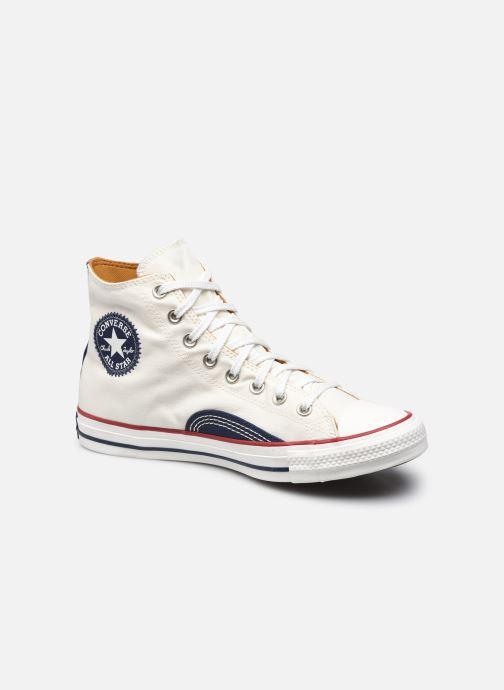 Sneakers Converse Chuck Taylor All Star Indigo Boro Hi Bianco vedi dettaglio/paio