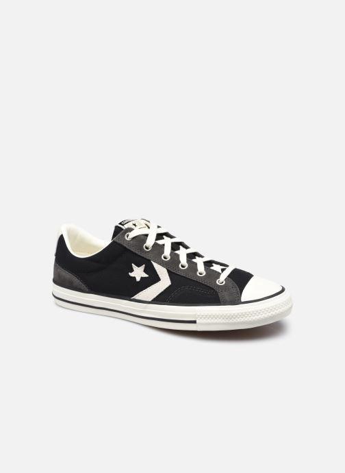 Sneaker Converse Star Player Alt Exploration Ox schwarz detaillierte ansicht/modell