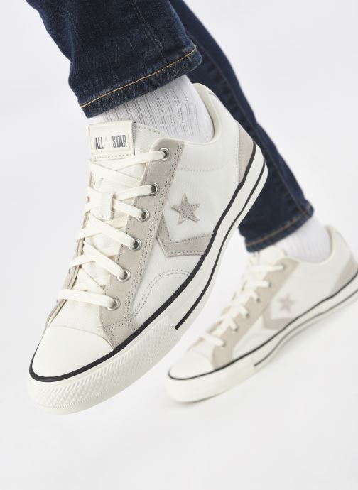Sneakers Converse Star Player Alt Exploration Ox Beige immagine dal basso