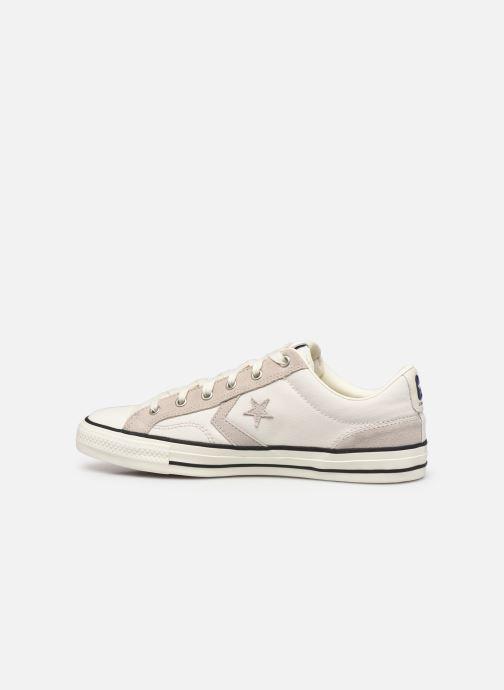 Sneaker Converse Star Player Alt Exploration Ox beige ansicht von vorne