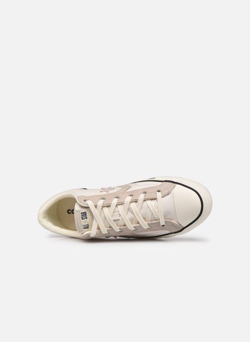 Sneaker Converse Star Player Alt Exploration Ox beige ansicht von links