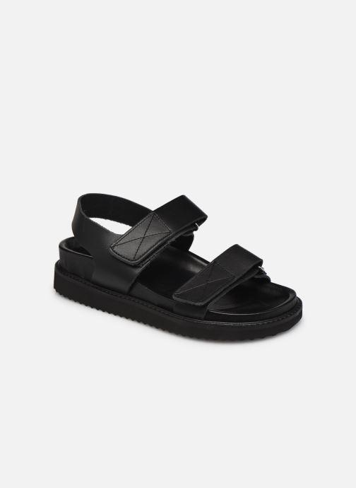 Sandales et nu-pieds Jonak FILIPE Noir vue détail/paire